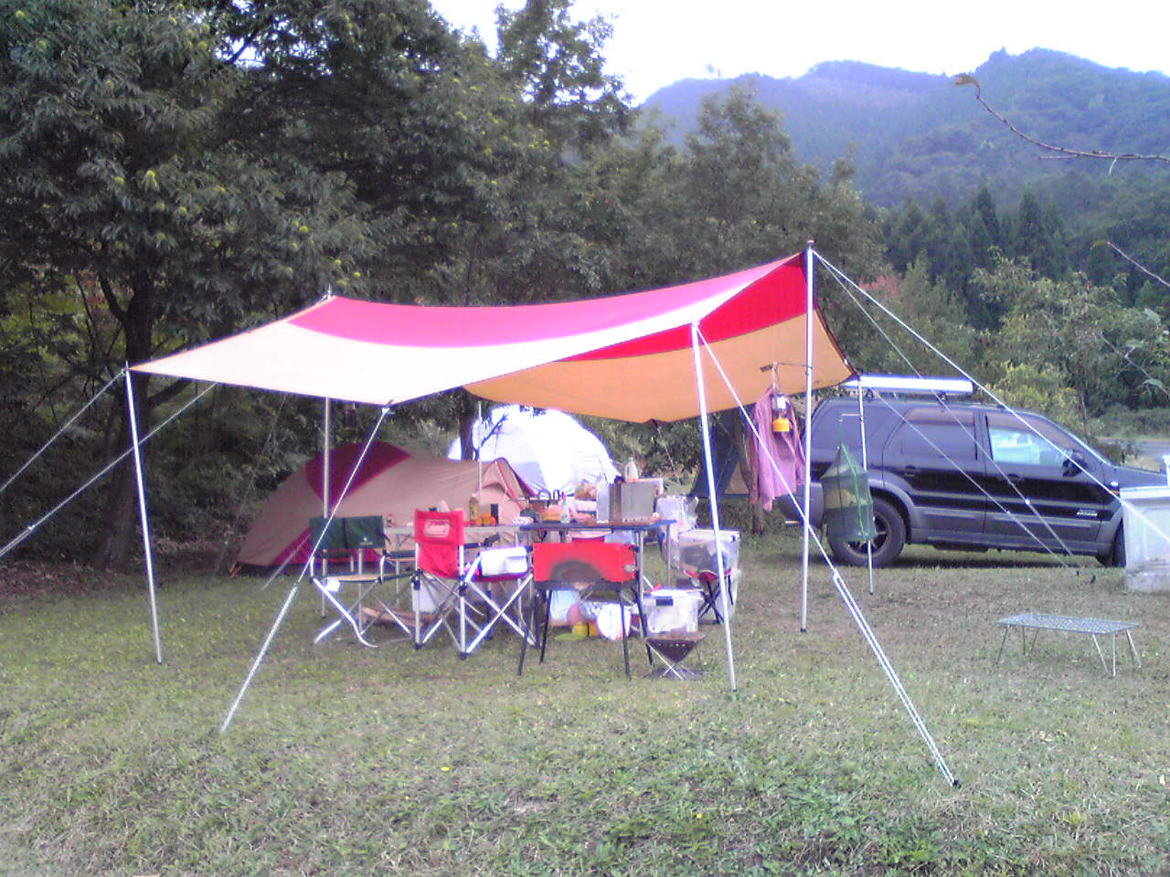 高瀬湖畔キャンプ場
