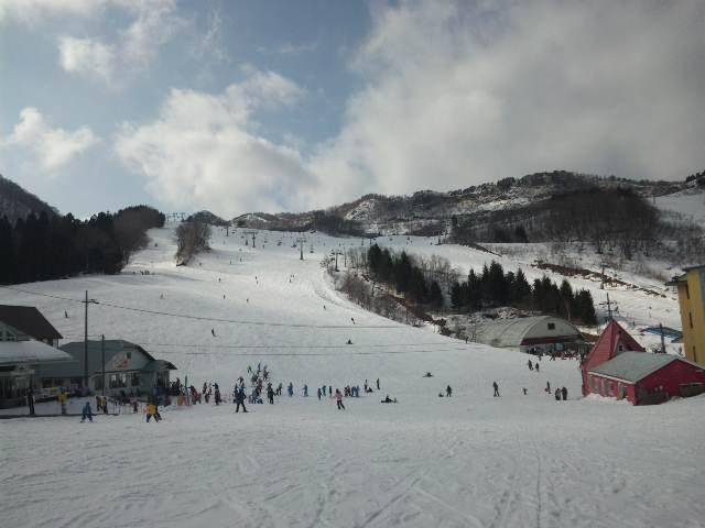 春スキーの陽気じゃな