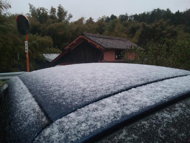 2013備中高梁ウルトラマラニックは『雪』!